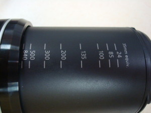 35mm Equivalent Markings