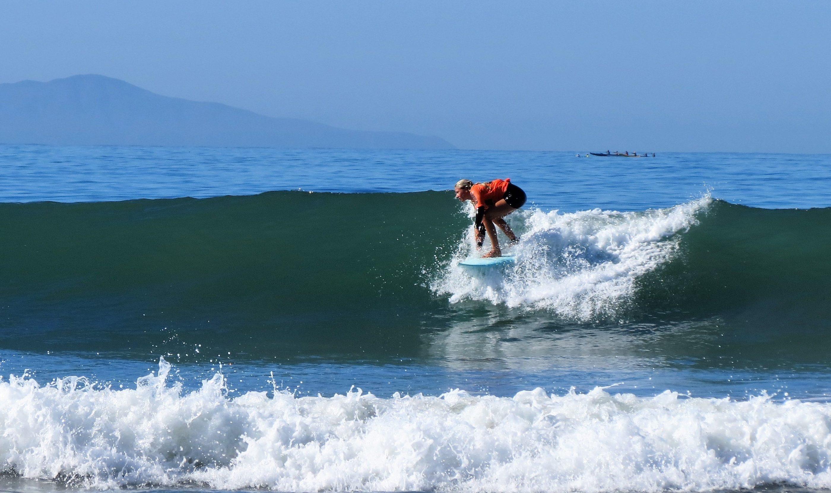 Surfer in action - Ventura, CA